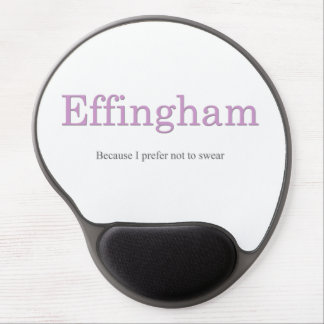 Effingham Mouse Pad Pink