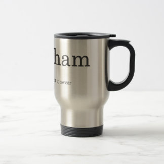 Effingham Stainless Steel 15 oz Travel Mug