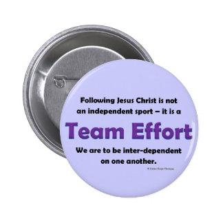 effort d équipe badge