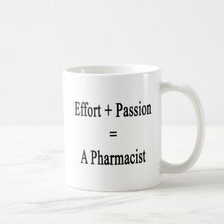 Effort Plus Passion Equals A Pharmacist Coffee Mug