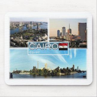 EG Egypt - Cairo - Gezira island - Nile - Mouse Pad