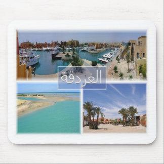 EG Egypt - Hurghada - El Gouna Tamr Henna - Mouse Pad