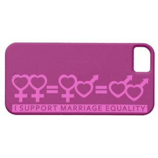 Égalité de mariage/un coque iphone de coutume d'am coques iPhone 5