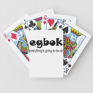 Egbok Bicycle Playing Cards