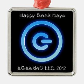 eGeekMD LLC 2012 Premium Square Ornament