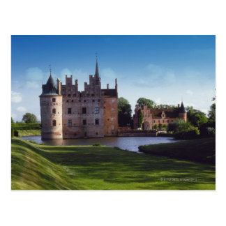 Egeskov Castle, Denmark Postcard