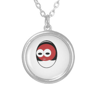 Egg1 Silver Plated Necklace