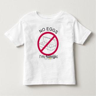 Egg Allergy Toddler T-shirt