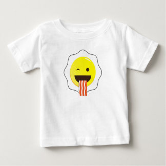 Egg and Bacon Wink Baby T-Shirt