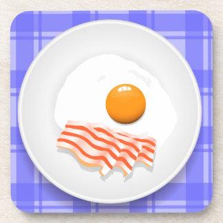 egg bacon coaster