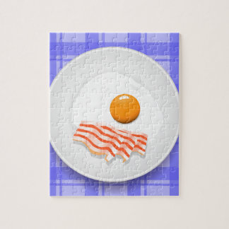 egg bacon jigsaw puzzle