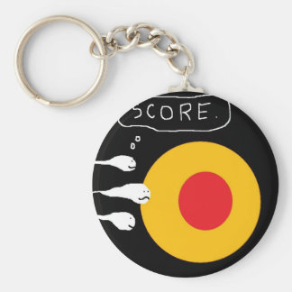 egg being attacked keychains
