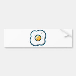 Egg Bumper Sticker
