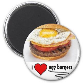 Egg Burgers Magnet