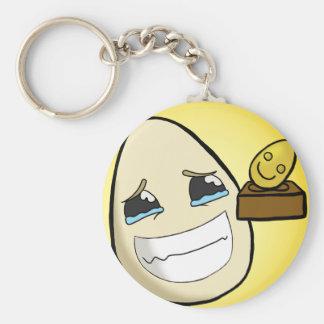 Egg-Ceptional Basic Round Button Keychain