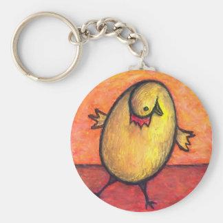 Egg Chicken Keychain