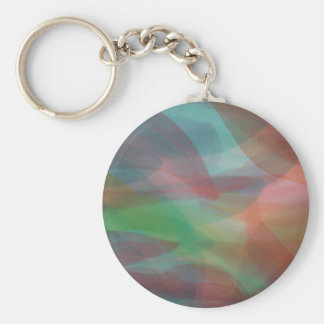 Egg Die abstract watercolour Button key chain