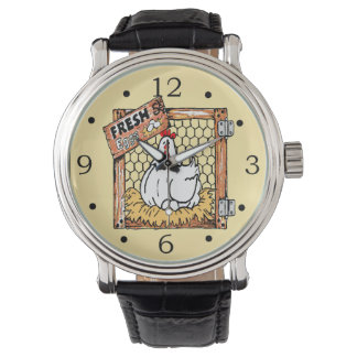 Egg Farmer-Hen With Eggs Watches