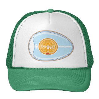 egg mesh hat