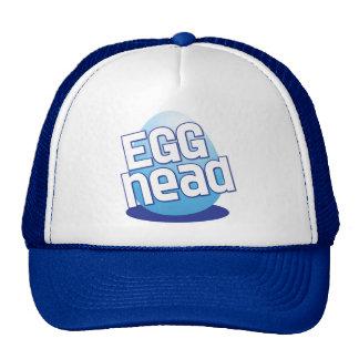 egg head easter bald funny trucker hat