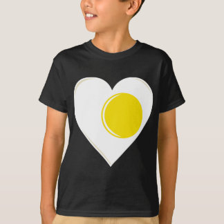 Egg Heart with Yolk T-Shirt