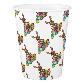 Egg Hunt Easter Bunny Paper Cup