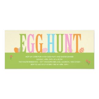 Egg Hunt Easter Party Invitation