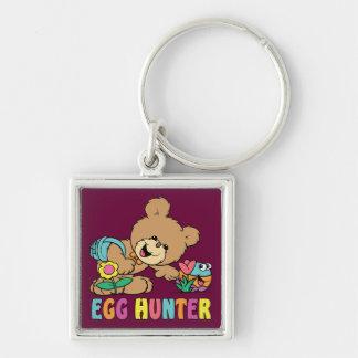 Egg Hunter Teddy Bear Key Chain Keychains