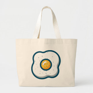 Egg Large Tote Bag