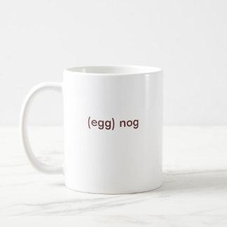 (egg) nog coffee mug
