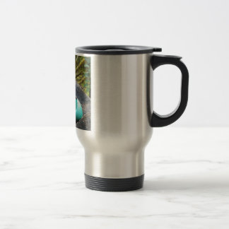 Egg of spring travel mug