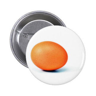 Egg On The White Background 2 Inch Round Button
