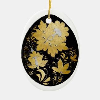 Egg Ornament - Russian Folk Art 22 - BB