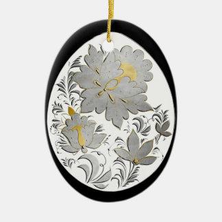 Egg Ornament - Russian Folk Art 24 - BB