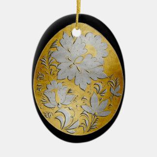 Egg Ornament - Russian Folk Art 26 - BB