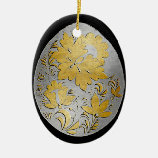 Egg Ornament - Russian Folk Art 27 - BB
