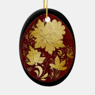 Egg Ornament - Russian Folk Art 33 - BB