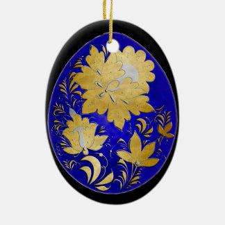 Egg Ornament - Russian Folk Art 37 - BB