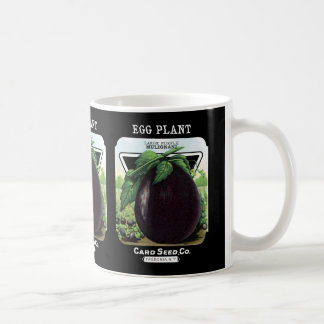 Egg Plant Seed Packet Label Coffee Mug