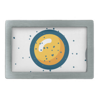 Egg Rectangular Belt Buckle