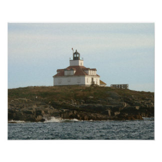 Egg Rock Lighthouse Poster
