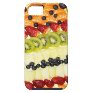 Egg shaped fruit pie with various fruits iPhone 5 cases