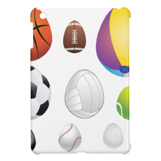 Egg Shaped Sport Balls Case For The iPad Mini