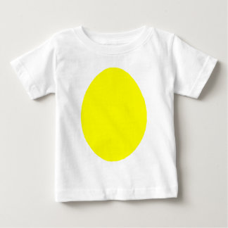 Egg Solid Yellow jGibney The MUSEUM Zazzle Gifts Baby T-Shirt