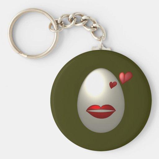 Egg-Sotic Keychains