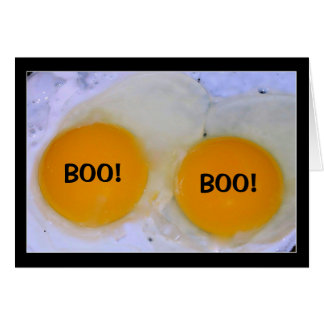 Egg-stra Bootiful Halloween! Card