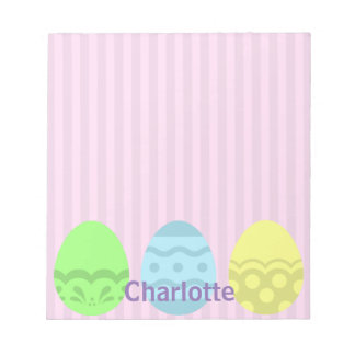 Egg-stra Special Easter Personalized Notepad