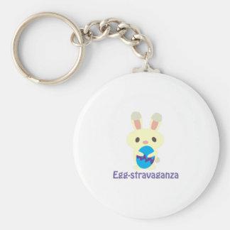 Egg-stravaganza Keychain