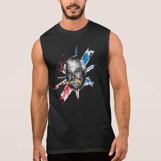Egg Tart | Black Men Sleeveless T-Shirt
