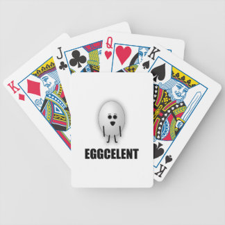 EGGCELENT BICYCLE PLAYING CARDS
